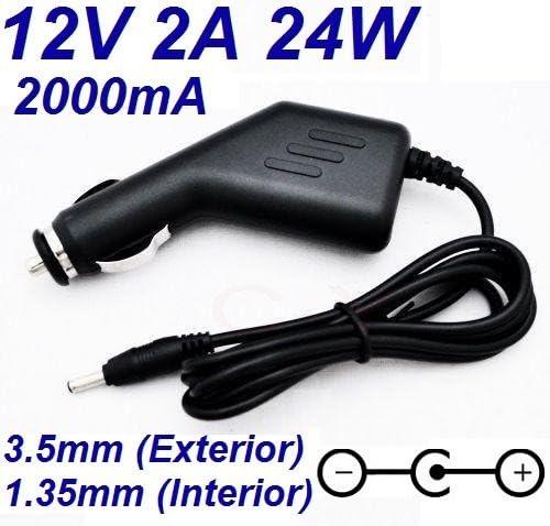 Cargador Corriente 12V 2A 2000mA 3.5mm 1.35mm 24W