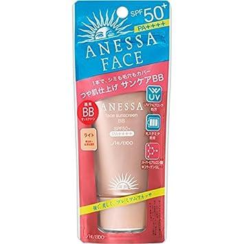 Shiseido ANESSA Facial Sunscreen BB Light Color 30g SPF50 PA