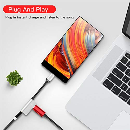 3.5 mm Headphone Jack Adapter with iPhone 7//7 Plus//XS Max//XS//XR//X 10//8//8 Plus iOS 11 2-Port Headphone Audio and Charger Adapter,Compatible iOS 10.3 Compatible iPhone Headphone Adapter//Splitter