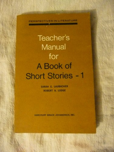 Book of Short Stories 1 (Perspectives in Lit : Tchrs Ed)