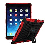 Best CASE-ON Ipad Cases Skins - TKOOFN Heavy Duty Silicon Defender Multilayer Protective Skin Review