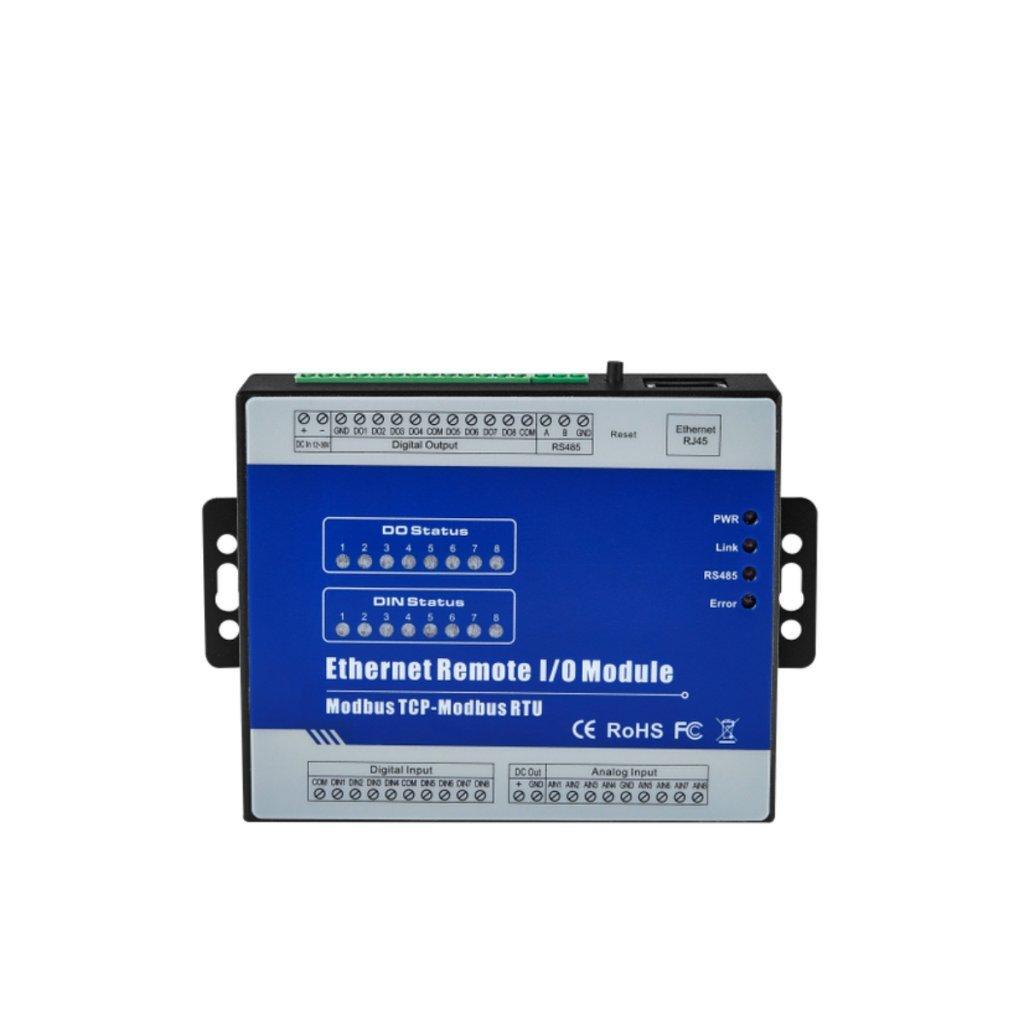 Homyl 8-Channel DAQ IO Module Board for Remote Control - LAN, Ethernet, PLC M320T