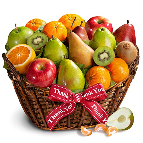 Golden State Fruit Thank You California Bounty Fruit Gift Basket