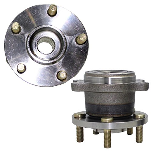 (Detroit Axle AWD Models Only Both (2) Rear Wheel Hub and Bearing Assembly Driver and Passenger Side - ABS)