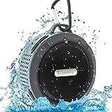 Deklerk waterproof bluetooth speaker, perfect shower speaker, ultra, pure sound, outdoor experience ,FREE GIFT TOP 100 SONGS downloadable content, Wireless waterproof outdoor speaker