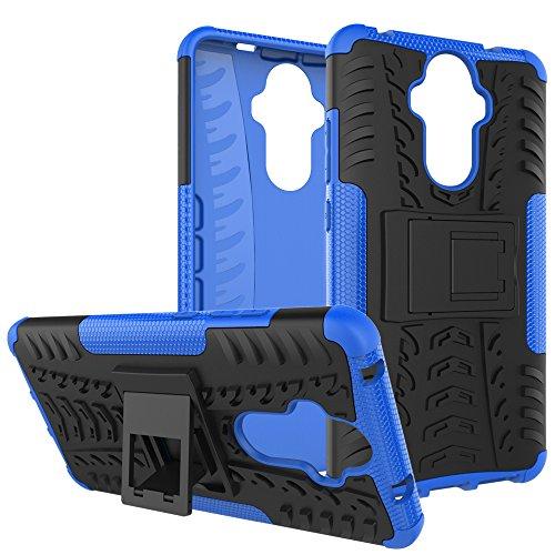 OFU®Para Huawei Mate 9 Smartphone, Híbrido caja de la armadura para el teléfono Huawei Mate 9 resistente a prueba de golpes contra la lucha de viaje accesorios esenciales del teléfono-azul