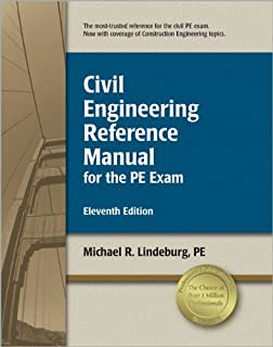 civil engineering reference manual for the pe exam michael r