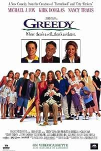 Greedy Poster Movie C 11x17 Mary Ellen Trainor Kirk Douglas Michael J. Fox Olivia D'Abo