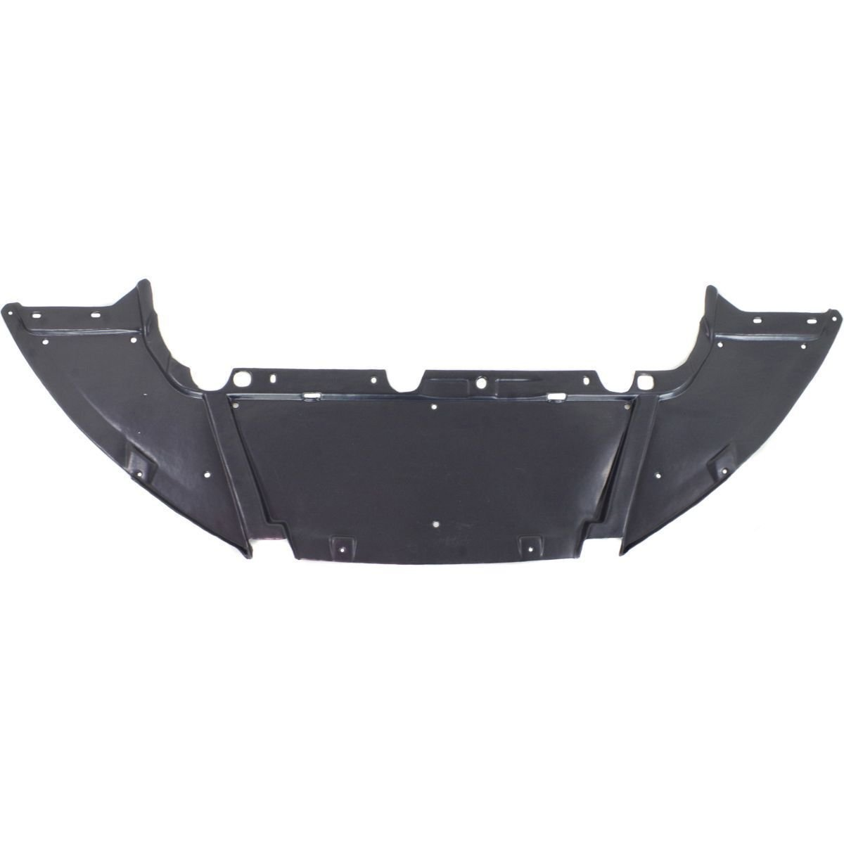 New Undercar Shield For 2012-2018 Ford Focus Sedan/Hatchback/Electric Models, Made Of Plastic FO1228119 CP9Z8310A Fitrite Autoparts