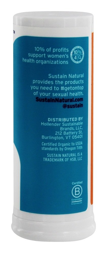 Organic Lip + Body Balm Citrus + Ginger - 0.6 oz. by Sustain (pack of 3) 6 Pk AVEENO Active Naturals Positively Radiant Tinted Moisturizer Med 2.50oz Ea