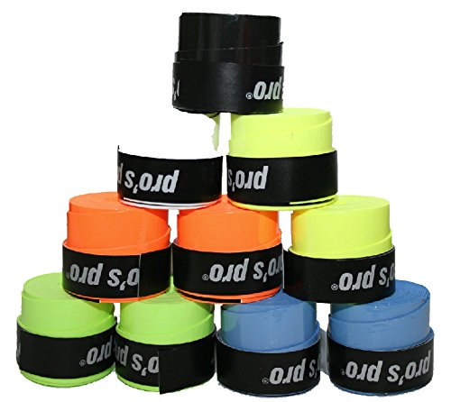 10 Overgrip Gtacky colori Tennis Grips Pro g070bx10bk