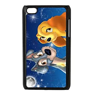 Lady and the Tramp for Ipod Touch 4 Phone Case & Custom Phone Case Cover R88A651451