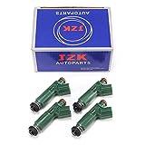 JZK Fuel Injectors 4pcs/Set 23250-22040 for 4x OEM fuel injector for MR2/Corolla/Celica/Prizm/Matrix/Vibe 1.8L (23250-22040)