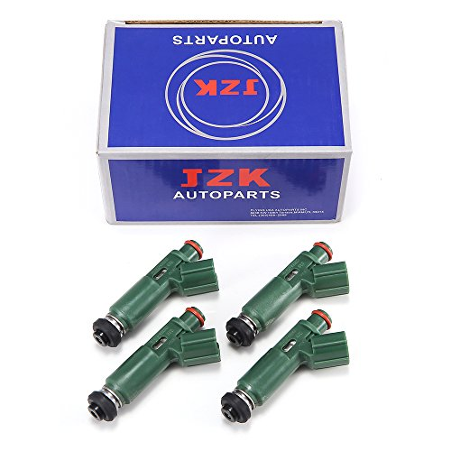 JZK Fuel Injectors 4pcs/Set 23250-22040 for 4x OEM fuel injector for MR2/Corolla/Celica/Prizm/Matrix/Vibe 1.8L (23250-22040) (Fuel Celica Injector)