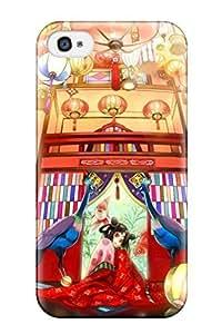 Rowena Aguinaldo Keller's Shop 7510202K623437787 original animal bird fishkimono kirinosuke pink Anime Pop Culture Hard Plastic iPhone 4/4s cases