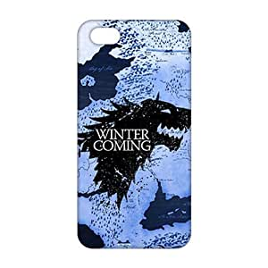 Fortune Winter is coming House Stark Game of Thrones 3D Phone Case For Sam Sung Galaxy S4 Mini Cover