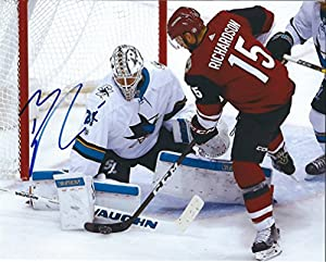 Autographed Brad Richardson 8x10 Arizona Coyotes Photo