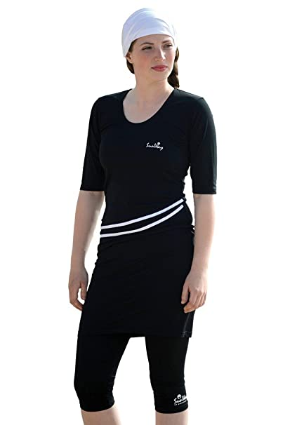 Amazon.com: Sunway Womens modesto traje de baño Swimwear ...
