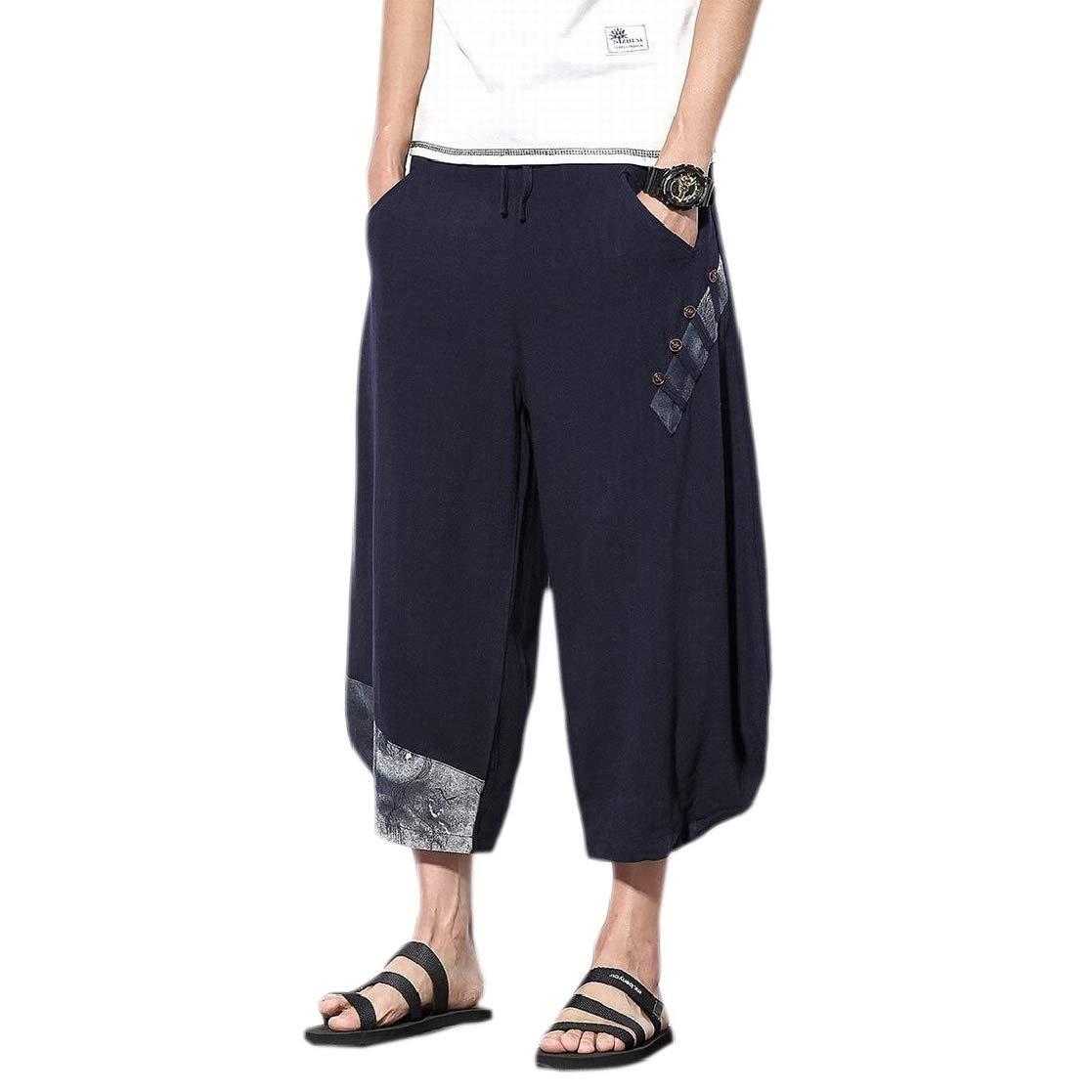 CYJ-shiba Mens Swim Casual Trunks Quick Dry Beach Shorts Drawstring Waist Surf Shorts