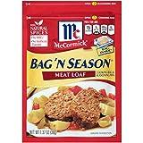 McCormick Bag 'n Season Meat Loaf Cooking Bag & Seasoning Mix, 1.37 oz (Case of 6)