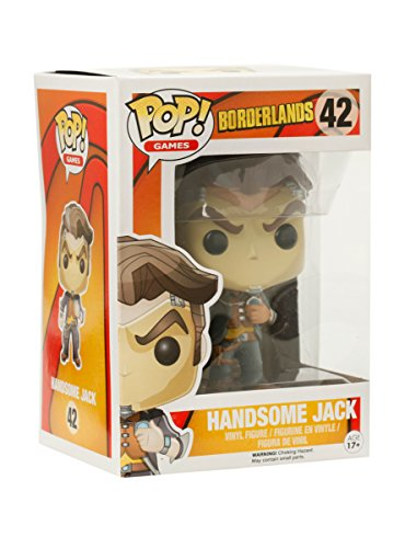 Funko POP Games: Borderlands Handsome Jack Action Figure