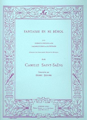 Fantaisie - Mi bemol: pour rc-cornet en Si B et Piano: Amazon.es ...