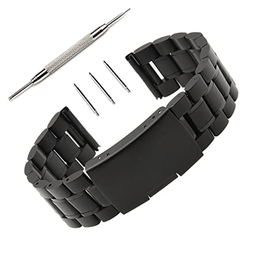 76 opinioni per 22mm Watch Band Orologio Cinturino Pinhen 22mm Cinturino Polso Acciaio