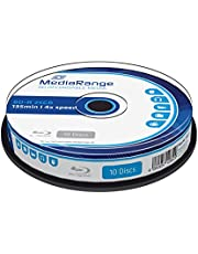 MediaRange MR495 BD-R Blu-ray-disc (25 GB 4 x speed, 10 stuks)
