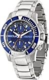 Sector - R3253577001 - S-99 - Montre Homme - Quartz Chronographe - Cadran Bleu - Bracelet Acier Argent