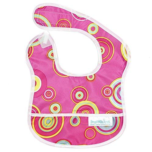 Price comparison product image Bumkins Waterproof Starter Bib, Pink Fizz (4-9 Months)