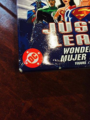 """51JTzcMSNBL Justice League JLA Unlimited 10"""" Wonder Woman Action Figure"""