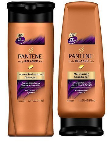Bundle - Pantene Truly Relaxed Intense Moisturizing Shampoo and Conditioner Set
