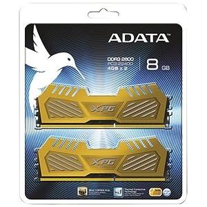 A-DATA DDR3-2600 4GB*2 GOLD AX3U2600W4G11-DGV