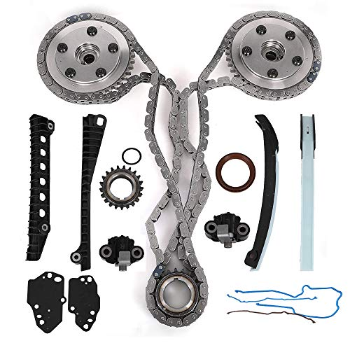 Engine Timing Chain Kit with Camshaft Drive Phaser Repair Kit for Ford  Expedition F150 F250 F350 & Lincoln Mark LT Navigator with 5 4L 3V Triton