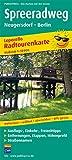 Radwanderkarte Spreeradweg - Leporello-Falzung: Mit Ausflugszielen, Einkehr- & Freizeittipps, wetterfest, reissfest, abwischbar, GPS-genau. 1:50000
