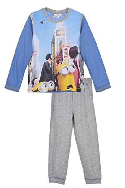 d0ea85d8f7 MINIONS - Pijama dos piezas - para niño azul azul 3 años