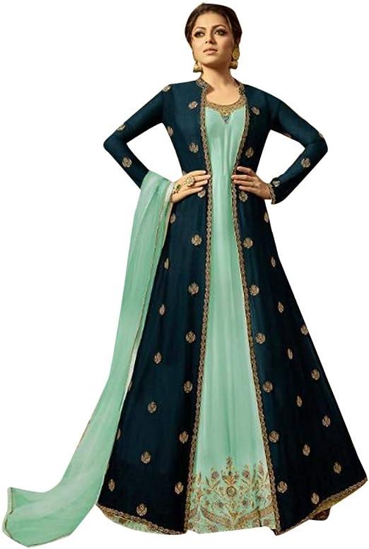 Indian Women Kurta Kurti Bollywood Pakistani Designer Long Tunic Top Dress Gown