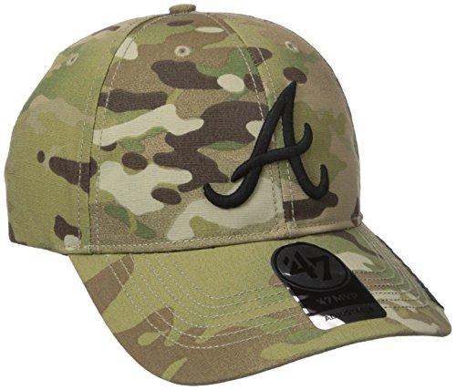 Mlb Atlanta Braves Myers Mvp Hat  One Size  Multicam