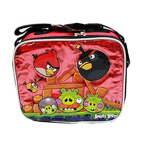 Angry Birds Insulated Lunch Bag tote bag school
