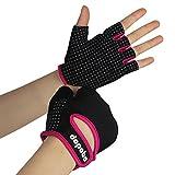 Dopobo Women Weightlifting Gloves Sports Gloves Unisex Half-finger Women...
