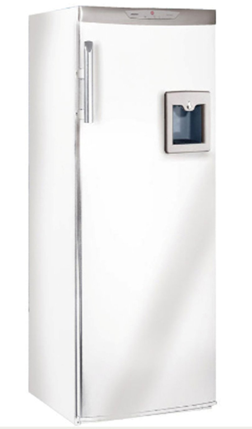 Hoover HLP 3587 Vollraumkühlschrank mit Getränkespender / A+: ...