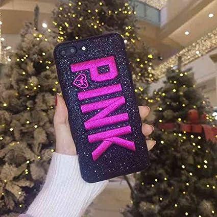 4a1db3a25dba8 OTADO Girl Cute Pink VS Victoria Soft Case for iPhone 8 8Plus 7 7Plus 6  6Plus 6s Plus X Xs Max XR Phone Cover Secret Case Coque Hull