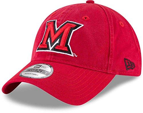 Miami Ohio Redhawks Baseball (Miami of Ohio Redhawks New Era 9Twenty Core Adjustable Hat)