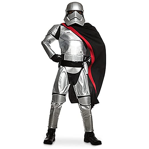 Disney Boys Star Wars The Force Awakens Captain Phasma Costume Size 5/6
