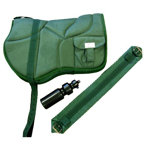 Best Friend Western Style Bareback Saddle Pad, Hunter Green (Back Pad Saddle)