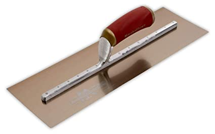 Marshalltown MPB145GSD 14x5-inch Gold Stainless Steel Plasterers Trowel