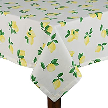 Amazoncom Kate Spade Charlotte St Tablecloth  By Inch - Kate spade table linens