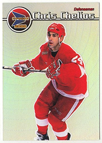 (Chris Chelios (Hockey Card) 1999-00 Pacific Prism # 49)