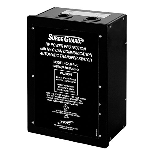 Surge Guard 40350-RVC Hardwire Automatic Transfer Switch - 50 Amp