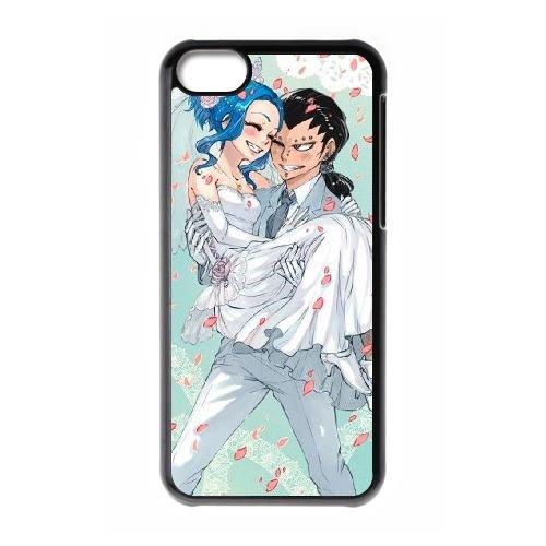 Fairy Tail 046 coque iPhone 5C Housse téléphone Noir de couverture de cas coque EOKXLLNCD13800